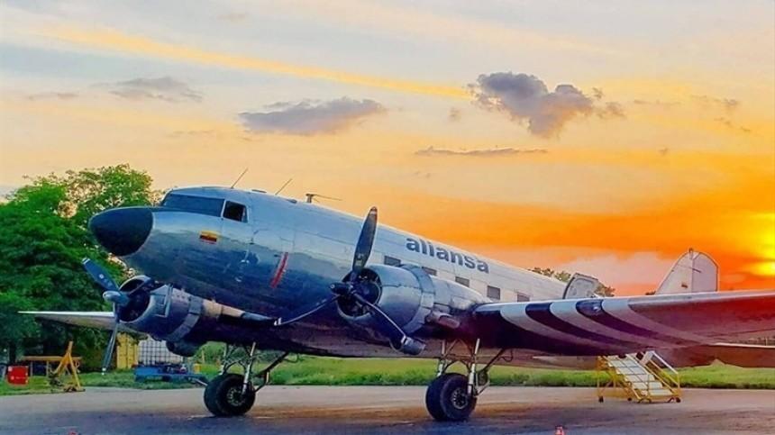 Самолет выкатился запределы ВПП при посадке вКолумбии