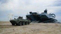 Видео: морской десант захватил остров Гогланд вФинском заливе