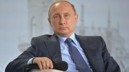 Владимир Путин прибыл вКрым