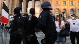 Видео: вБерлине начались массовые задержания активистов акции протеста