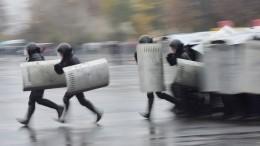 ВКремле прокомментировали возможное использование резерва силовиков вБелоруссии
