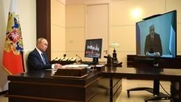 Врио главы Коми доложил Путину опервоочередных проблемах региона