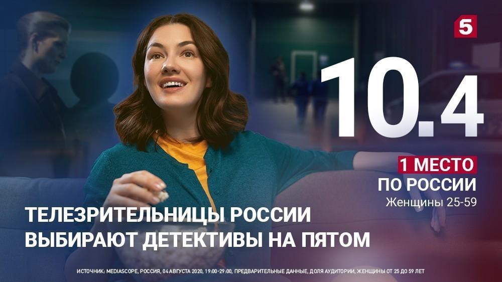 Телезрительницы России выбирают детективы наПятом