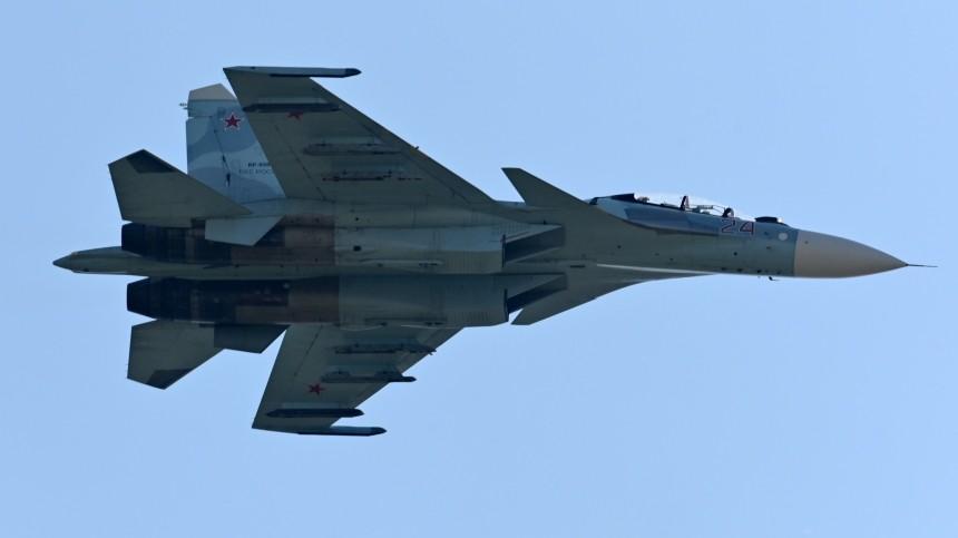 ВМинобороны опровергли нарушение границ Дании российским Су-27