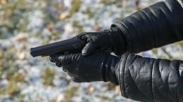 СКР опубликовал кадры сместа расстрела бизнесмена Деданина вТатарстане