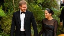 Принц Гарри иМеган Маркл начинают карьеру вГолливуде