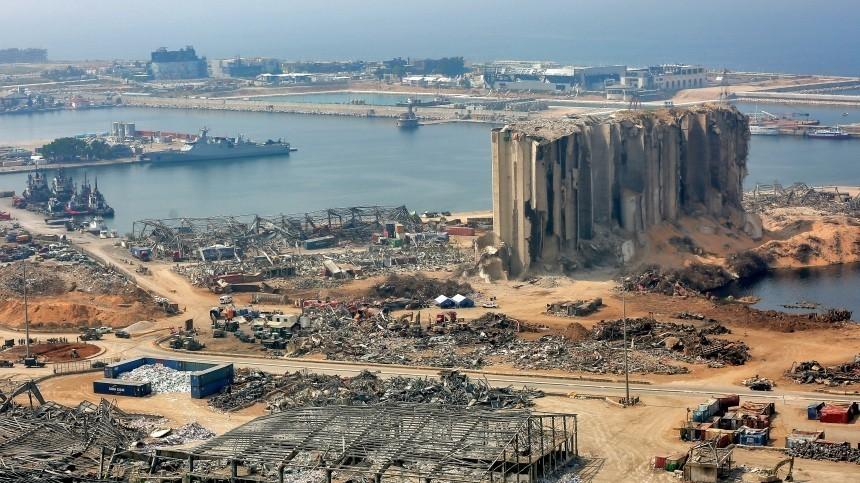 Вблизи порта Бейрута найдены свыше четырех тонн нитрата аммония