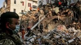 Спустя месяц вБейруте наместе взрыва ищут выжившего