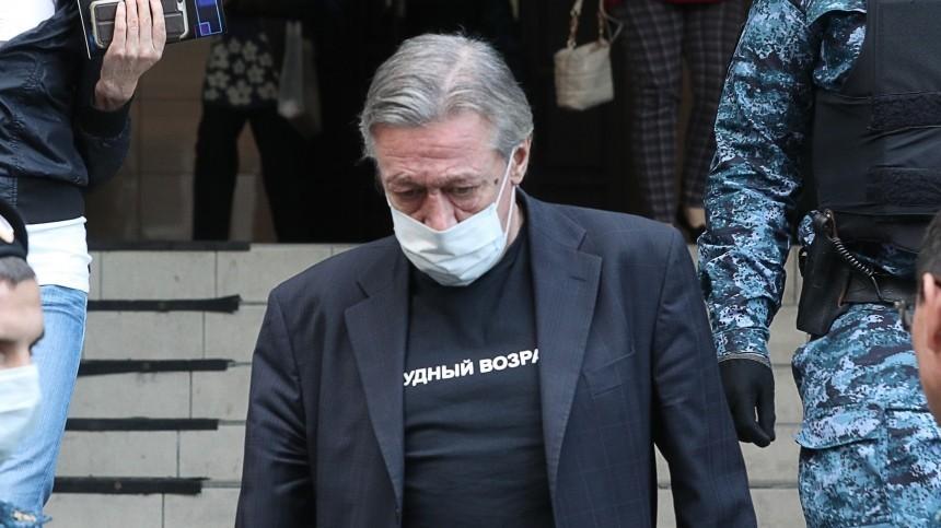 Адвокат Ефремова оприговоре для актера: Онготов кбольшому сроку