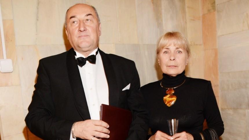 «Уже немог говорить»: Вдова Бориса Клюева рассказала опоследних днях жизни актера