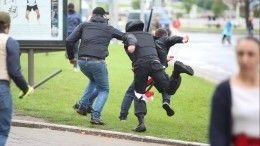ВМВД Белоруссии назвали число задержанных наакциях протеста