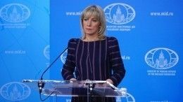ВКремле отреагировали напост Захаровой о«допросе» Вучича уТрампа