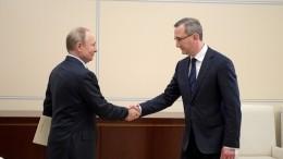 Путин поручил главе Калужской области поддержать строительную отрасль