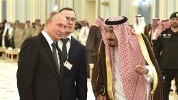 Путин обсудил скоролем Саудовской Аравии вакцину изРоссии