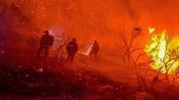 Рекордный пожар: Бушующее пламя вКалифорнии вынуждает жителей готовиться кэвакуации