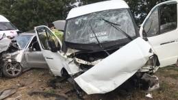 Видео: последствия аварии вКБР, где пострадали 12 человек, втом числе ребенок