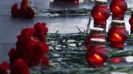 Прямая трансляция акции «Свеча памяти» вПетербурге