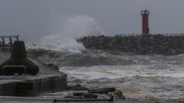 Видео: Жуткие последствия супертайфуна вПриморье
