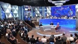 Кремль восполнит отмену прямой линии сПутиным вконце года