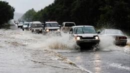 Тайфун «Хайшен» продолжает испытывать напрочность Дальний Восток