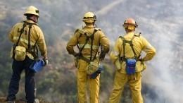 Американских пожарных лишили главной профессиональной награды