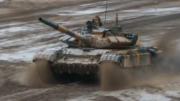 Только дуло над водой: российские танкисты маневрировали наглубине впять метров