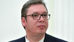 Вучич заявил, что Путин извинился перед ним запост Захаровой