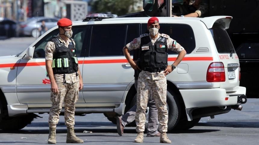 Видео момента мощного взрыва вИордании, где погибли два человека