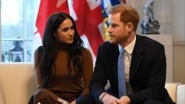 «Нанем небыло лица»: Принц Гарри иМеган Маркл поругались вобщественном месте