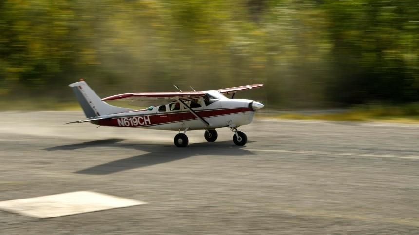 Аэроплан совершил жесткую посадку вТамбовской области