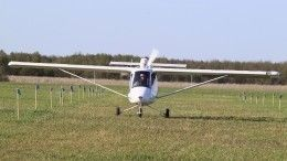 Шокирующие кадры сместа жесткой посадки аэроплана вТамбовской области (18+)