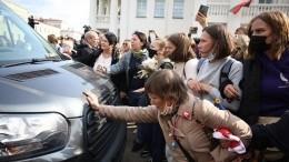 ВМинске правоохранители начали задерживать участниц «женского марша»