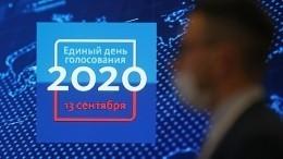 Единый день голосования вРоссии: как прошло икакие новые технологии были применены