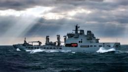 ВМФ отслеживает действия американского эсминца вБалтийском море