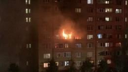 Пожар вквартире Нижнекамска перепуганные жители приняли захлопок газа