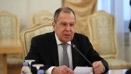 МИД РФзаявил оботмене визита Лаврова вБерлин 15сентября