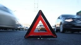 Видео: BMW иFerrari столкнулись вПетербурге