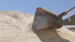 Пуд сирийской соли: вПальмире восстановили производство стратегического продукта