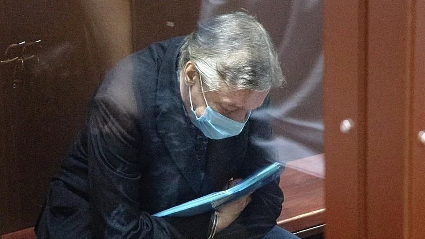 Стало известно содержимое папки Ефремова всуде