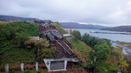 ВМурманской области разрушили памятник героям-подводникам времен ВОВ