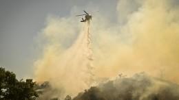 Ситуация спожарами вСША вышла из-под контроля— видео