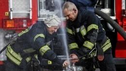 НаУкраине вновь загорелся военный полигон