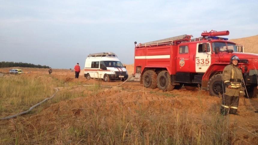 Легкомоторный самолет разбился под Ульяновском