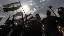 Жители Сирии требуют убрать турецкие войска изстраны