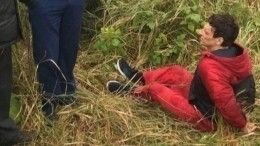 Первые кадры сместа задержания предполагаемого убийцы двух девочек вРыбинске