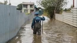 Видео: центр Хабаровска уходит под воду