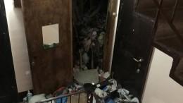Соседка хозяйки «мусорной» квартиры несколько лет невидела еемужа-инвалида