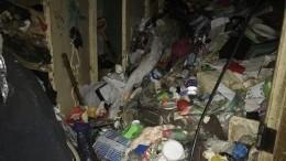 Труп обнаружен впетербургской квартире, заваленной мусором