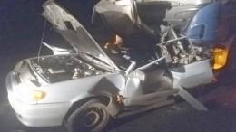Пять человек стали жертвами жуткой аварии под Оренбургом