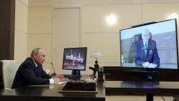 Путин наградил создателя гиперзвукового блока «Авангард» орденом Андрея Первозванного